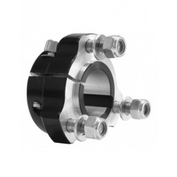 Rear hub 30x 35 black complete