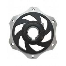 Alu. rear brake disc hub...