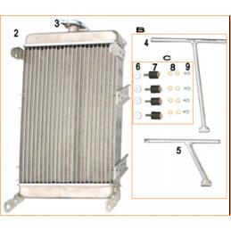 Radiator support kit DD
