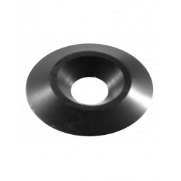 Alu seat washer black 8