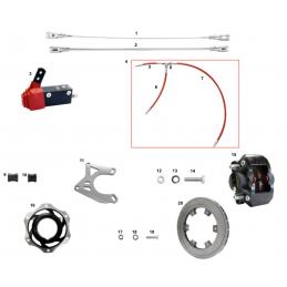 V08 DD D50 brake system...