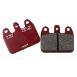 Rear brake pad V09-11 iron red
