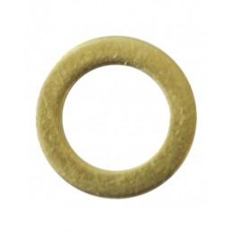 Brass washer 6,5-10x1