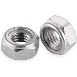 Metal self-locking nut M5