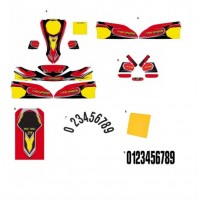 STICKERS KART KIT